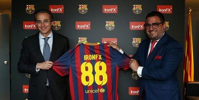 IronFX Soccer Sponsor