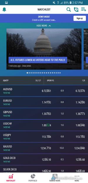 ADSS OREX mobile watchlist