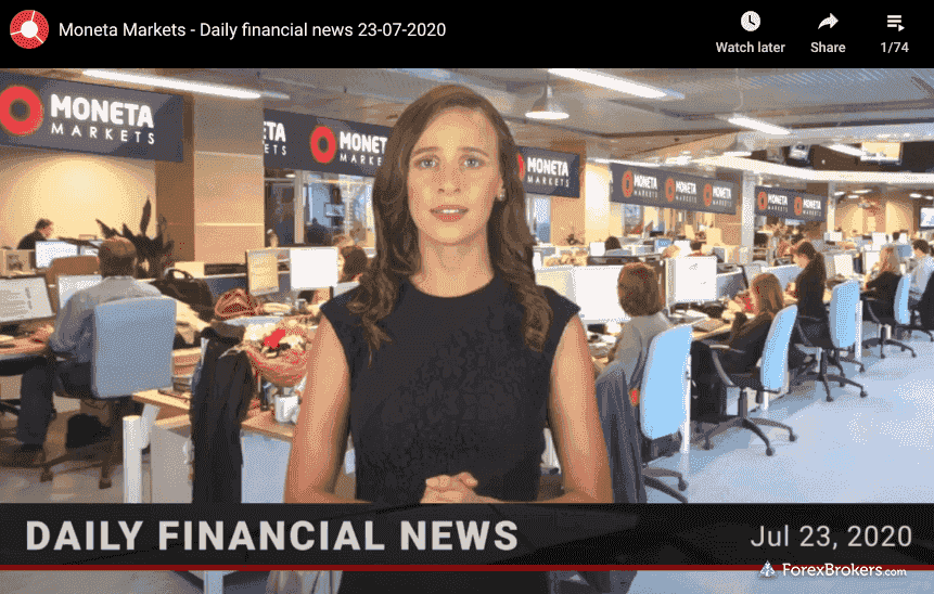 Moneta Markets daily financial news videos
