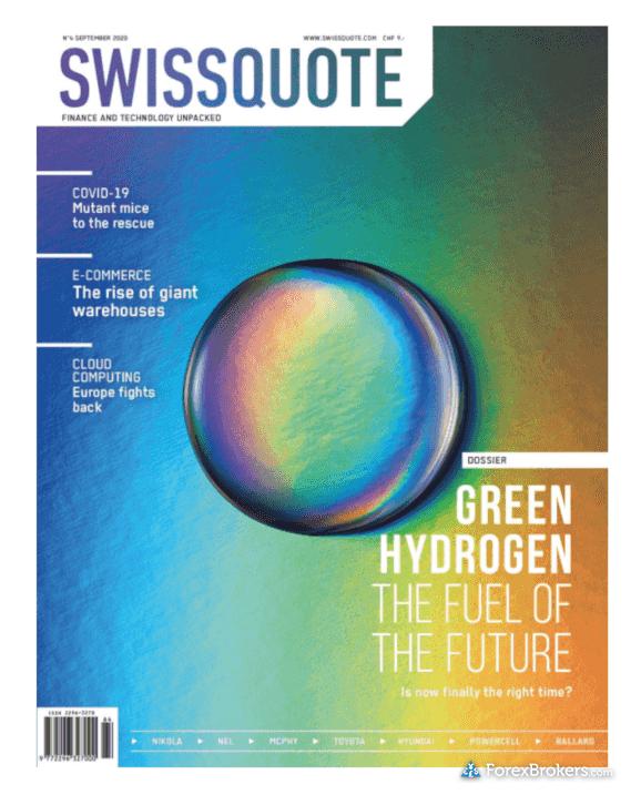 Swissquote magazine September 2020 edition