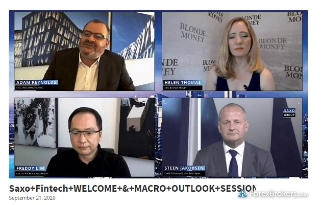Saxo Bank research videos fintech unfiltered macro outlook