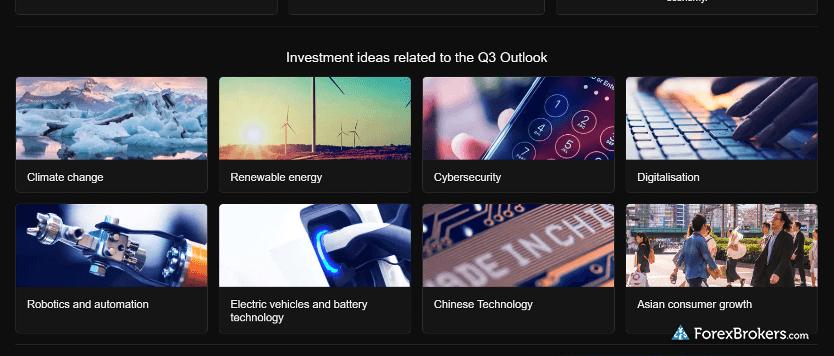 Saxo Bank SaxoTraderGO research quarterly outlook ideas