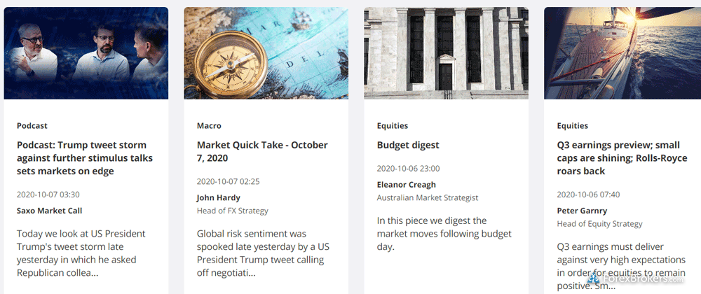 Saxo Bank research web news